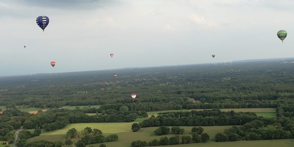 Bucketlist Christa - Twente Ballooning