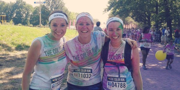 Bucketlist Wensen  - Color Run